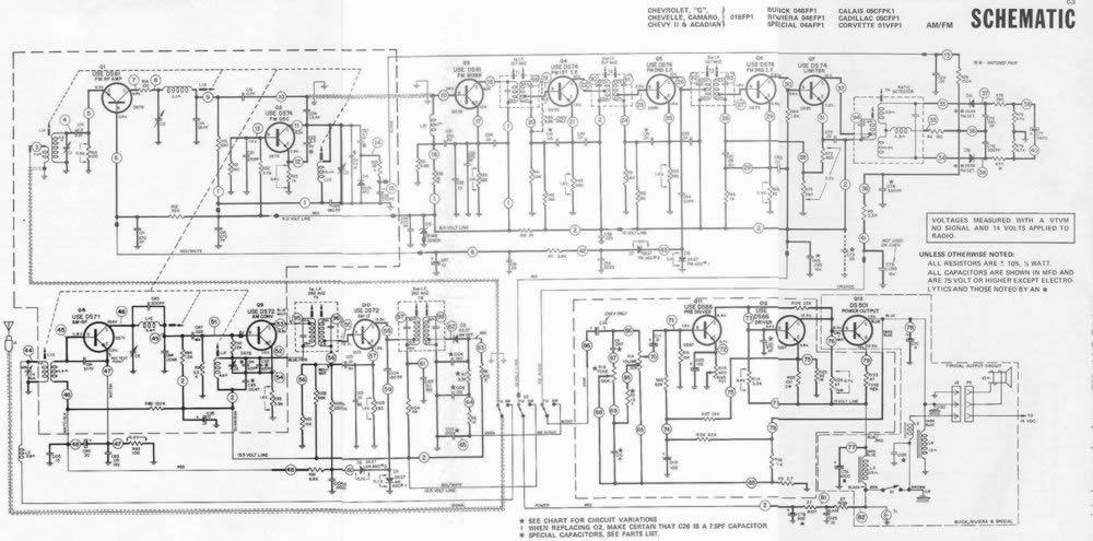 Beste Delco Modell 15071234 Funkschaltplan Zeitgenössisch ...