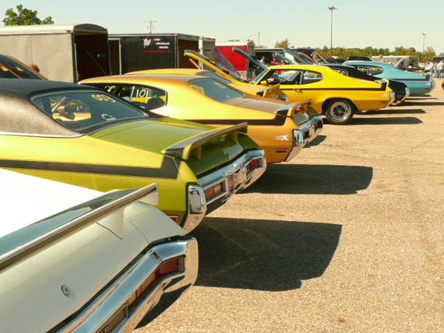 Pure Stock Muscle Car Drag Race 2012